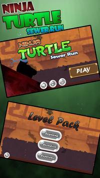 Shadow Ninja Turtle Sewer JUMP poster