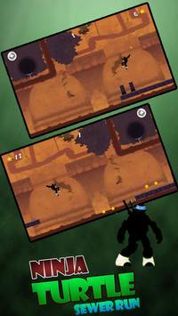 Shadow Ninja Turtle Sewer JUMP screenshot 1