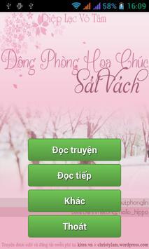 Dong phong hoa chuc sat vach poster