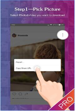 حمل صور وفيديوهات إنستقرام HD apk screenshot
