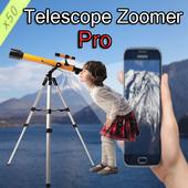 Telescope zoomer HD Pro icon