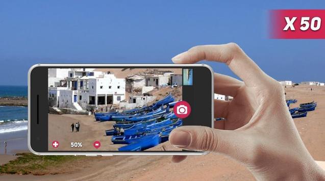 Telescope zoomer HD Pro apk screenshot