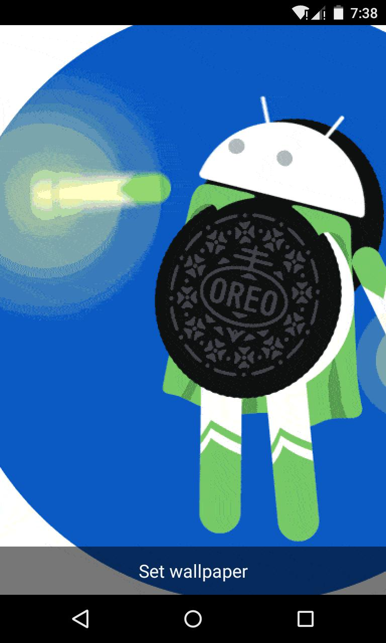 New Oreo Live Wallpaper For Android Apk Download