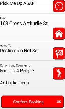 Arthurlie Taxis Barrhead apk screenshot