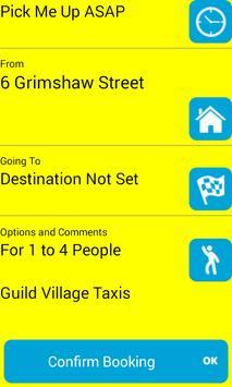 Guild Village Taxis Preston screenshot 1