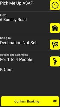 K Cars - Fast Taxis in Accrington screenshot 1