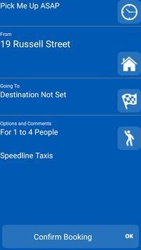 Speedline Taxis Keighley screenshot 1
