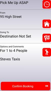 Steves Taxis, Castle Point screenshot 1