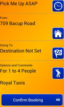 Royal Taxis Rossendale screenshot 1