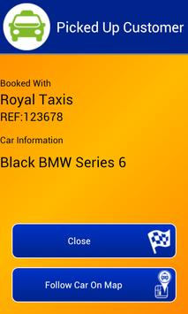 Royal Taxis Rossendale screenshot 2