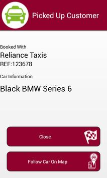 Reliance Taxis Gravesend apk screenshot