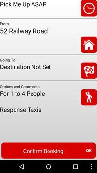Response Taxis Darwen screenshot 1