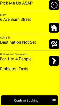 Ribbleton Taxis Preston screenshot 1