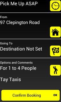 Tay Taxis Dundee apk screenshot