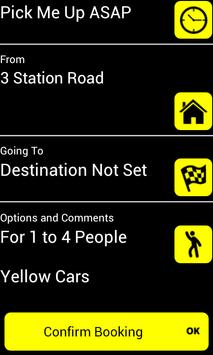 Yellow Cars Barnoldswick apk screenshot