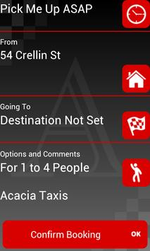 Acacia Taxis Barrow apk screenshot