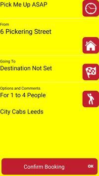 City Cabs Leeds screenshot 1