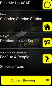 Sneckie Taxis Inverness apk screenshot