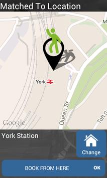 York Station Taxis poster