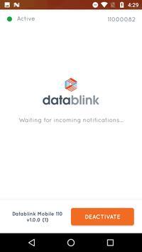 Datablink Mobile 110 screenshot 1
