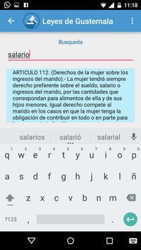Leyes de Guatemala apk screenshot