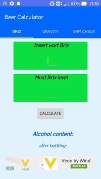 Accurate Abv Calculator poster