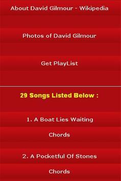 All Songs of David Gilmour screenshot 2