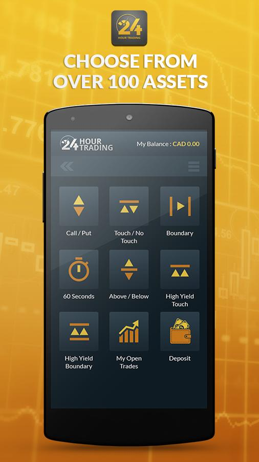 24 Hour - Day Trader for Android - APK Download