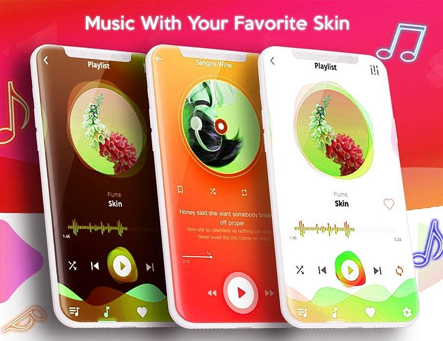 Music Player Style Iphone X (Pro) 2018 Free Music for