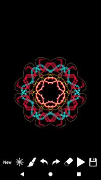Kaleidoscope Magic Paint - رسم سحري - تلوين كاليد screenshot 3
