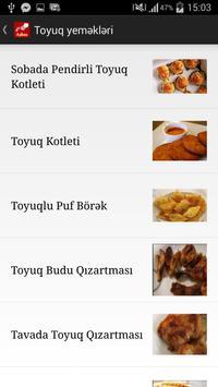 Aşpaz - yemək reseptləri apk screenshot