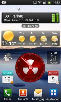 Clock Widget apk screenshot