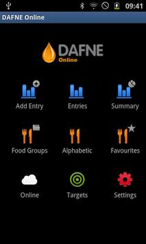 DAFNE Online Android poster