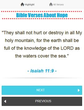 Daily Bible Verses - FREE poster