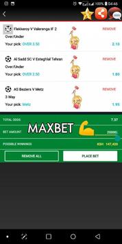 Daily MAXBET Tips screenshot 1