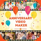 Anniversary Video Maker icon