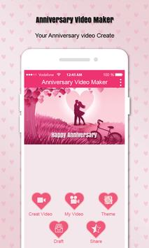 Anniversary Video Maker poster
