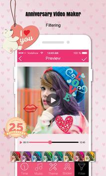 Anniversary Video Maker screenshot 4