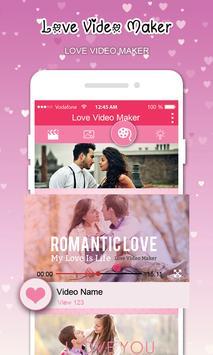 Love Video Maker With Music screenshot 7