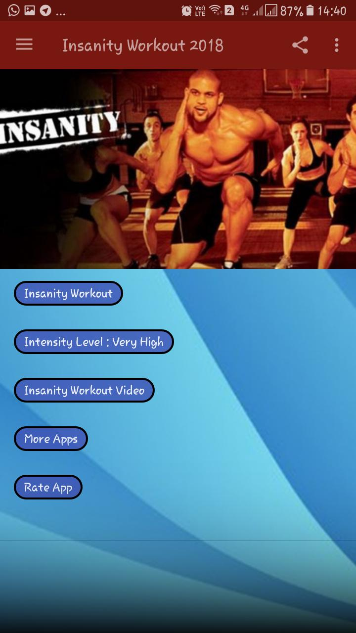 Insanity Workout Free App For Android Apk Download