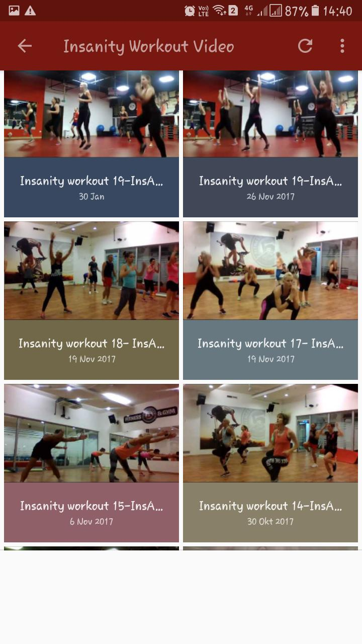 Insanity Workout Free App for Android - APK Download