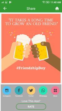 Happy Friendship Day screenshot 3