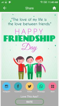 Happy Friendship Day screenshot 7