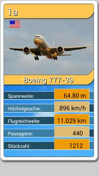 Aircraft Top Trumps Cards screenshot 2