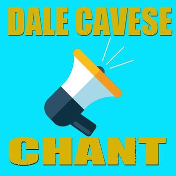 DALE CAVESE CHANT poster
