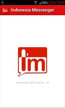 Indonesia Messenger I'm poster