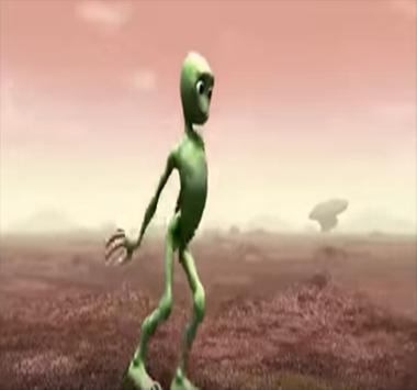رقصة الرجل الفضائي الأخضر بدون نت - dame tu cosita poster