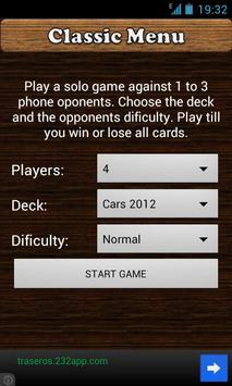 CardWars Free apk screenshot