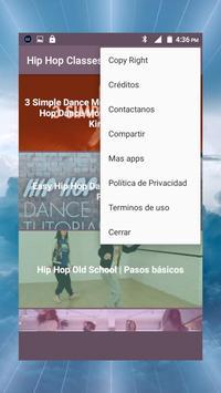 Hip Hop dance classes, old school, learn to dance screenshot 11