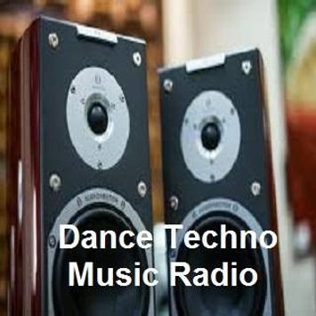 Dance Techno Music Radio poster
